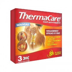 Thermacare multi-zone - 3 patchs