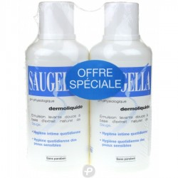 Saugella dermoliquide 50ml lot x2
