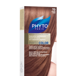 Phyto color couleur soin 7d blond doré kit