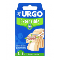 Urgo pansements bande extensible 1mx6cm