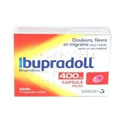 IBUPRADOLL 400MG CAPS BT10
