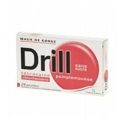 DRILL S/SUC PAMPLEMOUS PAST 24