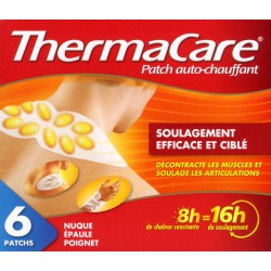 Thermacare Cou et Epaules - 6 patchs
