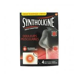 SYNTHOLKINE PATCH CHAUF DOS GM X4