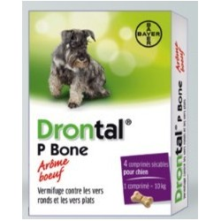 DRONTAL P CPR CHIEN BT 4 V