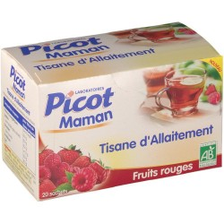 PICOT TIS ALLAITEMENT FRUITS ROUGES