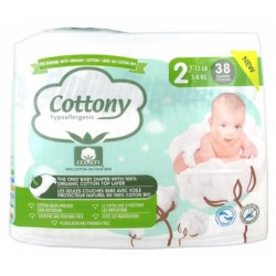 COTTONY COUCHES BEBE T2 X38