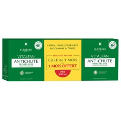 FURT LOT DE 3 VITALFAN ANTICHUTE PROG NEW