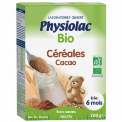 PHYSIOLAC BIO CEREALES CACAO 200G